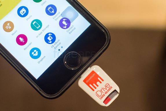 Strontium nitro idrive card reader